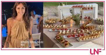 Il party in spiaggia: Benedetta Parodi mostra anche la faccia del giorno dopo (Foto)