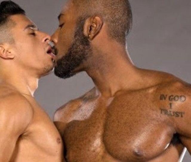 Gay Bareback Porn Kiss Black Asian Men