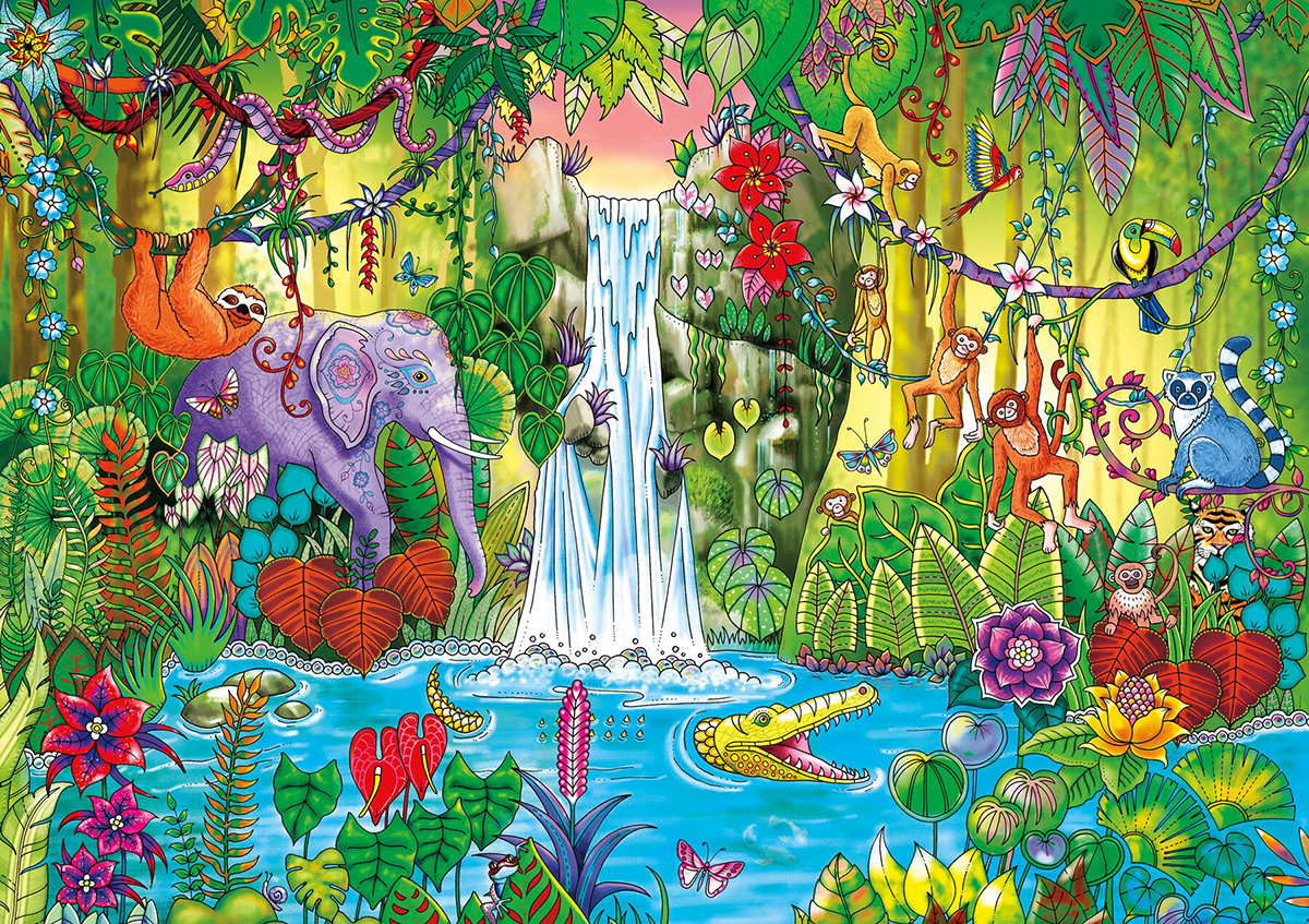 Magical Jungle Jigsaw Puzzle
