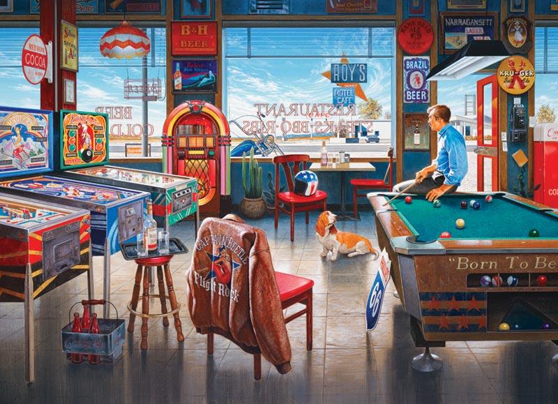 Billiards Restaurant Jigsaw Puzzle