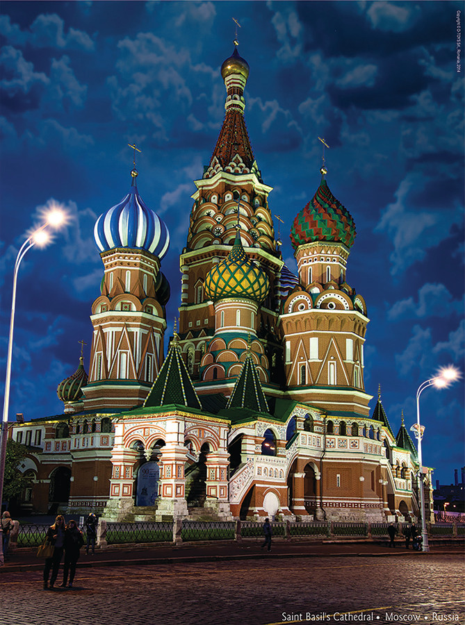 Basils Cathedral Russia