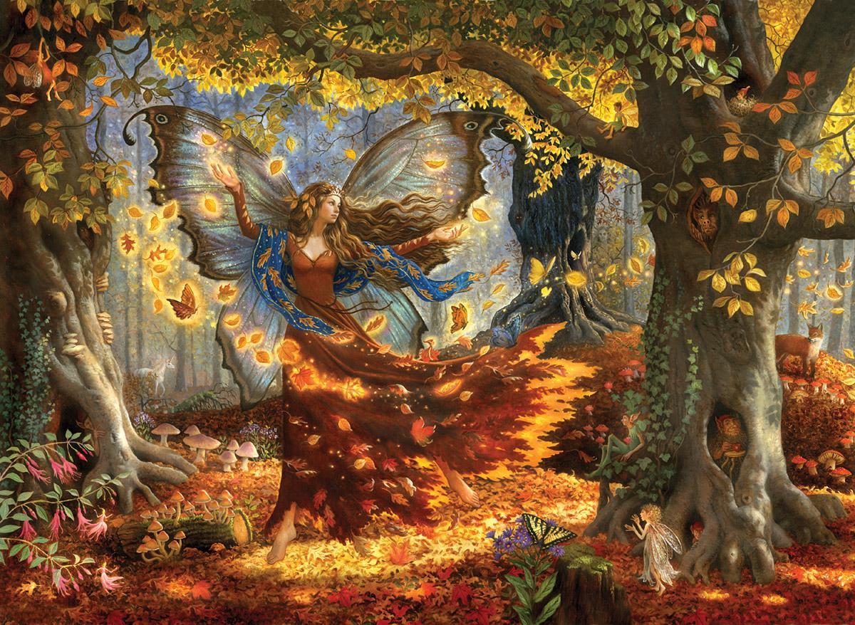 Woodland Fairy Jigsaw Puzzle