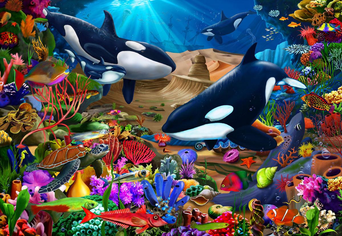 Wondrous Ocean Jigsaw Puzzle