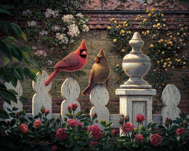 Emily's Garden Birds Jigsaw Puzzle