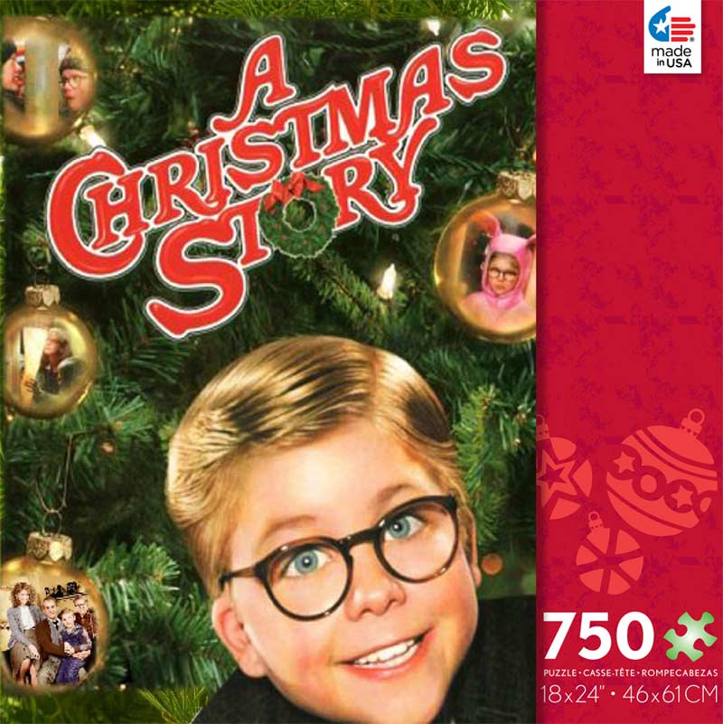 A Christmas Story Warner Bros Jigsaw Puzzle