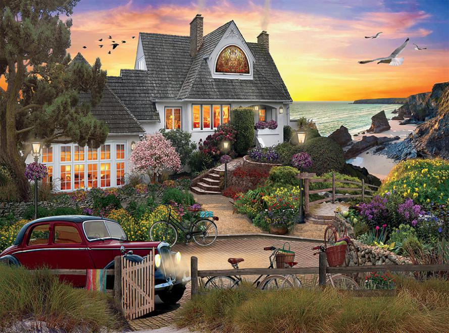 Seaside Hill Jigsaw Puzzle
