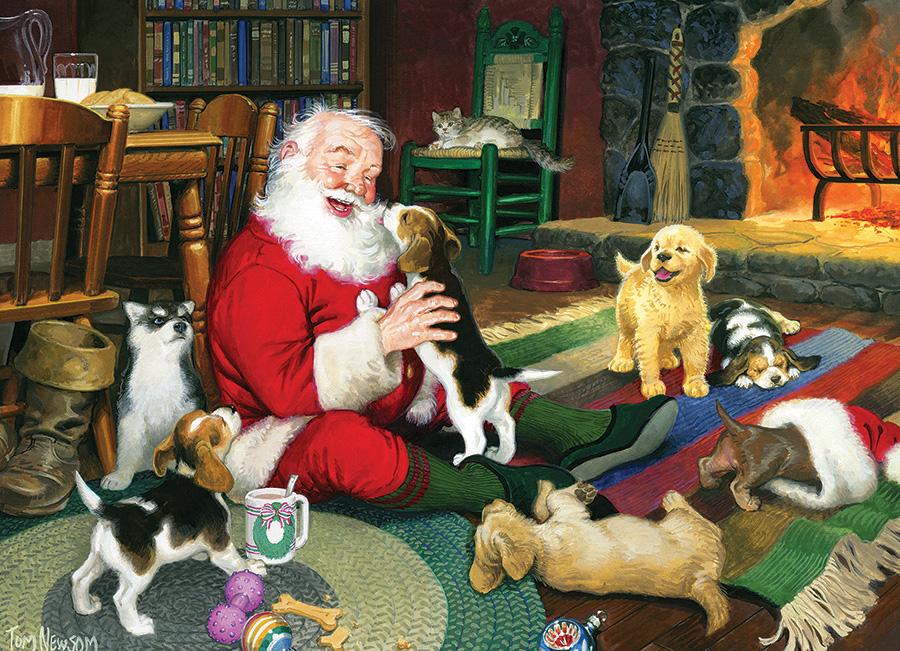 Santas Playtime Jigsaw Puzzle