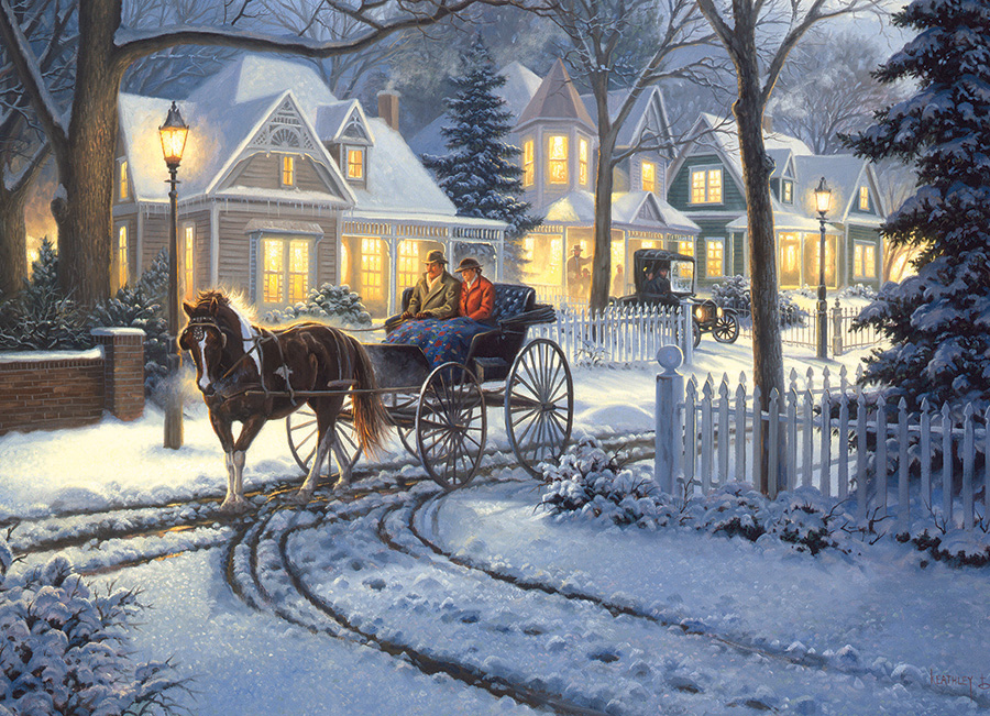 Horse Drawn Buggy Jigsaw Puzzle