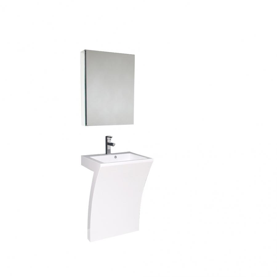 pedestal sink dimensions