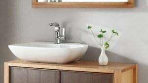 40 Inch Single Sink Bath Vanity In Red Oak And Walnut