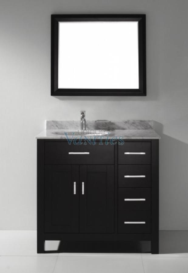 36 Inch Single Sink Bathroom Vanity In Espresso UVABXKAES36