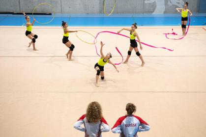 Rhythmic sports activities gymnastics: 1 / 4 of gymnasts suffered bodily violence