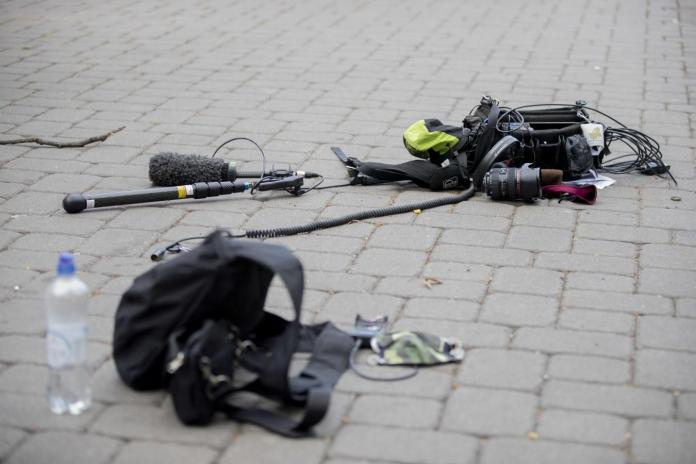 Violence against media professionals – ZDF journalists after ...