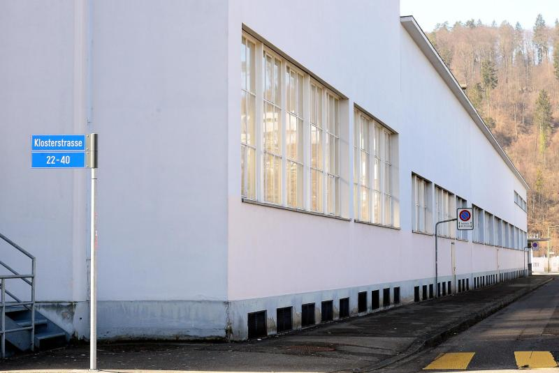 The Covid vaccination center in Winterthur is to be built in the empty Rieter hall at Klosterstrasse 22.