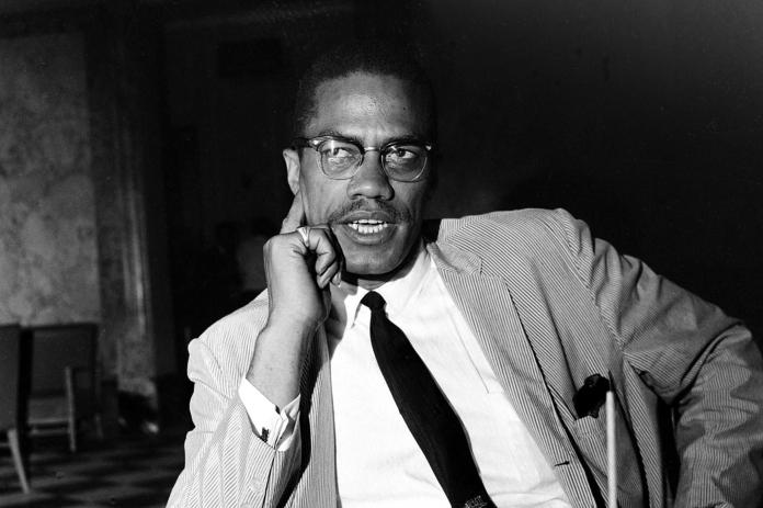 The former drug dealer and pimp gleaned a wealth of knowledge in prison: Malcolm X in 1964.