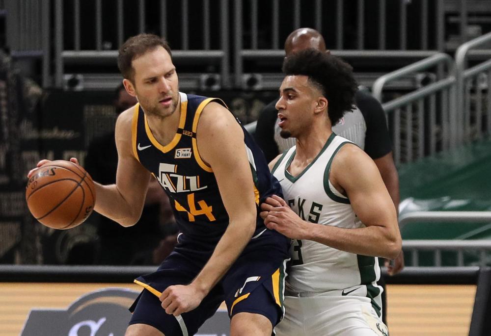 Basketball: Le Jazz a fait danser les Bucks - 20 minutes