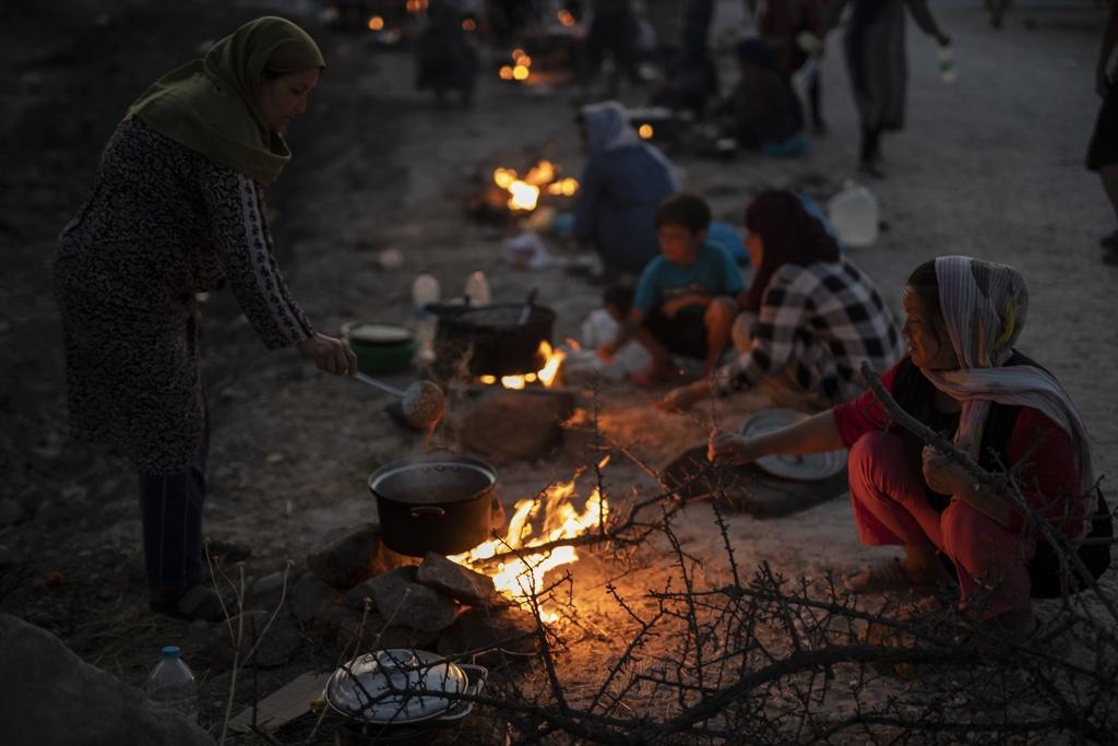 Les conditions de vie sont délicates pour les réfugiés.