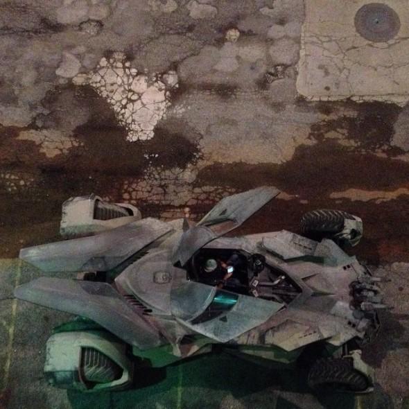 batmobile3 590x590 BATMAN V SUPERMAN: DAWN OF JUSTICE Batmobile Revealed