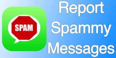 Stop iMessage Spam