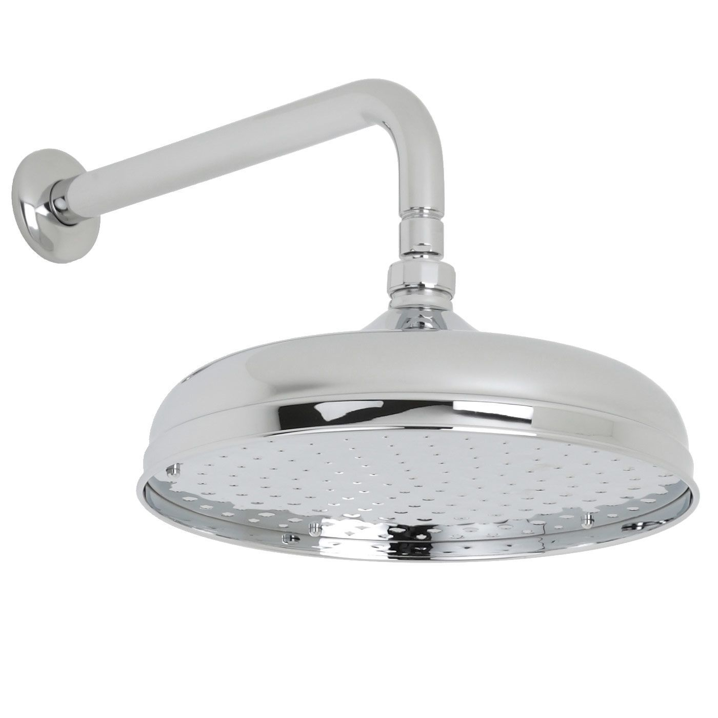 Valquest 12 Traditional Shower Head With Wall Arm