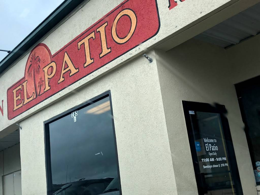 el patio mexican restaurant 165