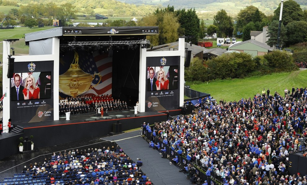 2010 Ryder Cup Opening Ceremony - Credit: TIMOTHY A. CLARY/AFP