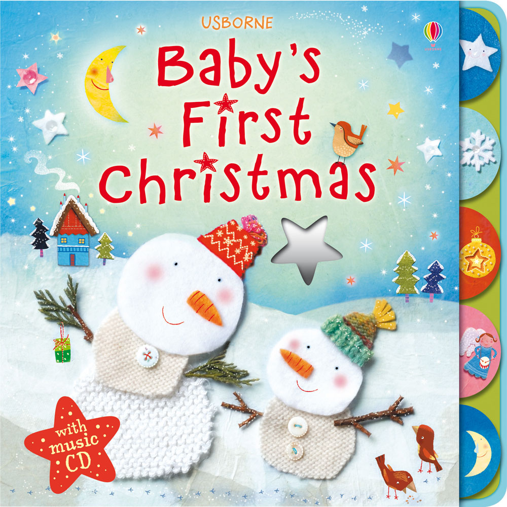 Babys First Christmas With Music CD At Usborne Books At