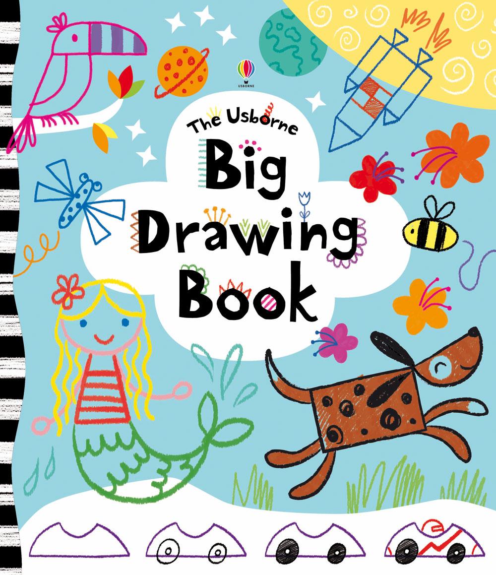 """Big drawing book"" at Usborne Children's Books"
