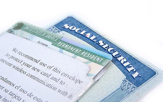 Une carte verte est un visa de résidence permanente des États-Unis