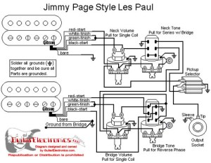 Les Paul EMG 'Jimmy Page' wiring  Ultimate Guitar