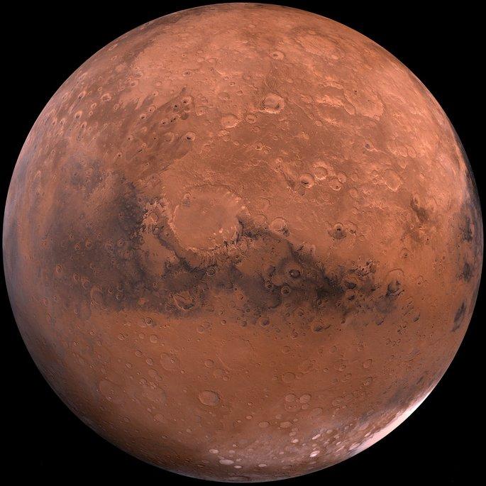 Күн жүйесінде Марс планетасы