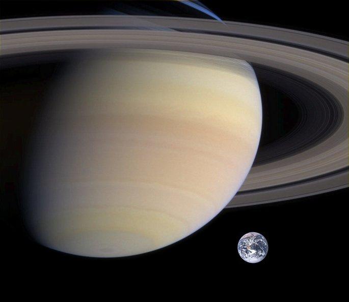 Күн жүйесіндегі Saturn планетасы