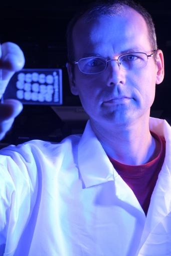 Postdoctoral research associate Michal Kliman