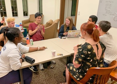 Game night at the Residential Colleges, from Social 'Dore @valerie_rk