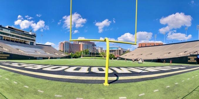 Vanderbilt's football field, from Social 'Dore @t_hop05