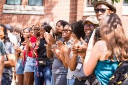 Black Cultural Center's 3rd annual Harmabee March. (Susan Urmy/Vanderbilt)