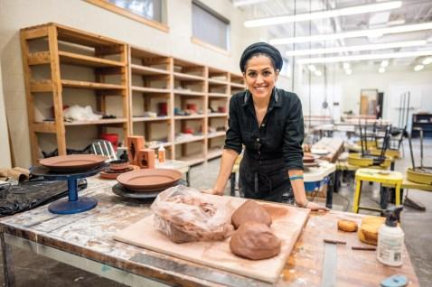 Raheleh Filsoofi, assistant professor of art (John Russell/Vanderbilt University)