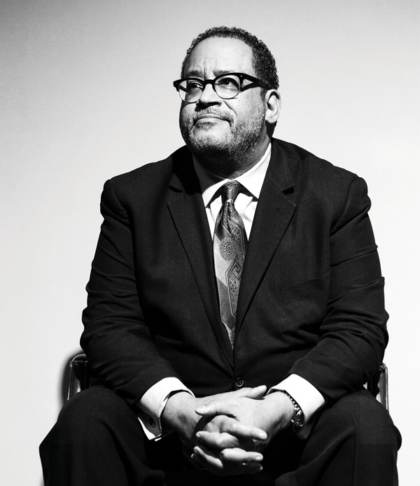 Michael Eric Dyson, Centennial Chair and University Distinguished Professor of African American and Diaspora Studies, University Distinguished Professor of Ethics and Society (KK Ottesen)
