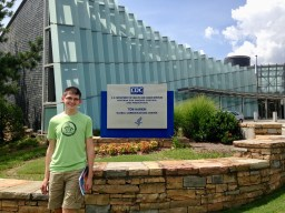 Clark visiting the Centers for Disease Control and Prevention in Atlanta.