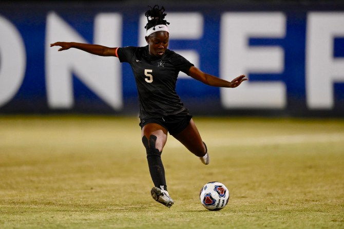 Konte will play another season at Vanderbilt as she works toward a master's degree in medicine, health and society.