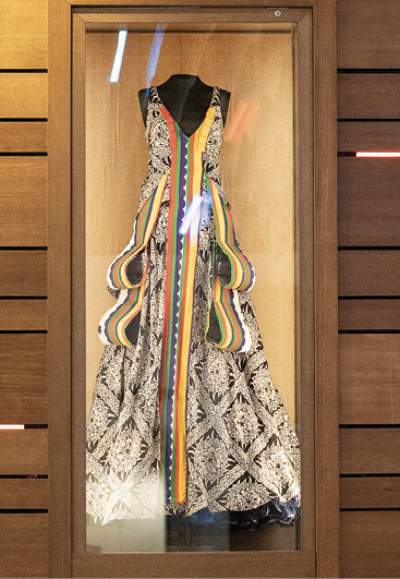 A dress worn in concert by singer-songwriter India Arie