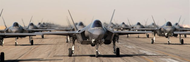 Reisner will be working with Lockheed Martin on these F-35 fighter jets. (Photo courtesy Lockheed Martin)