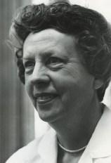 black and white photo of Margaret Cuninggim