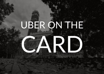 Uber on the Card