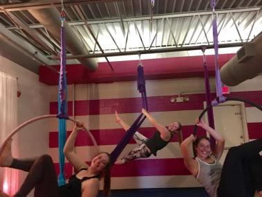 Bagel B's at Aerial Yoga