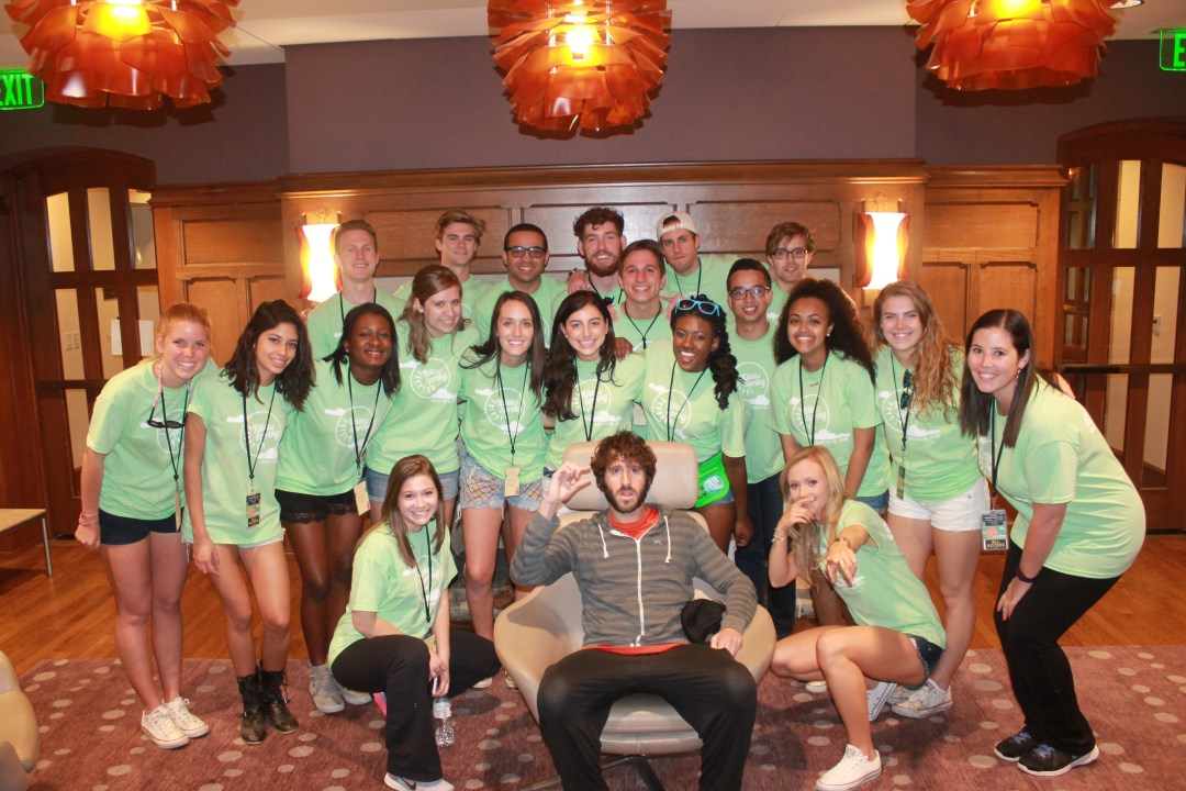 Lil Dicky and the Music Group