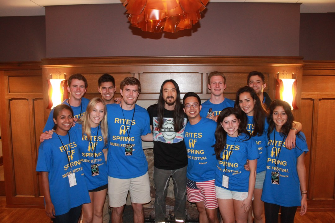 Steve Aoki and the Music Group