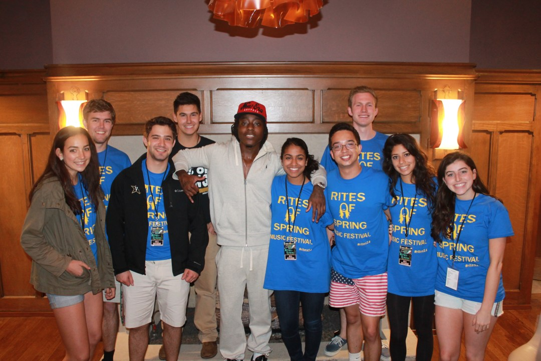 Ace Hood and the Crew!