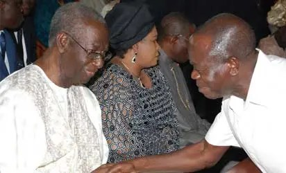 Jonathan,OBJ,Oshiomhole,others bury differences to honour