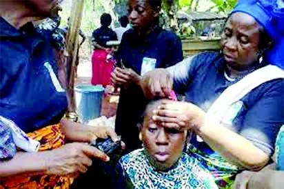 Image result for widows hair in nigeria